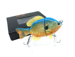 Mother Nature Lure Swimbait Baby Sunfish Series Longear Sunfish Color New in Box