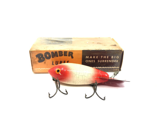 Wooden Bomber 500 Series #10 White/Red Tail and Head Color with Box