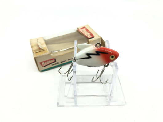 Heddon Sonic 385 RH Red Head White Body Color with Box