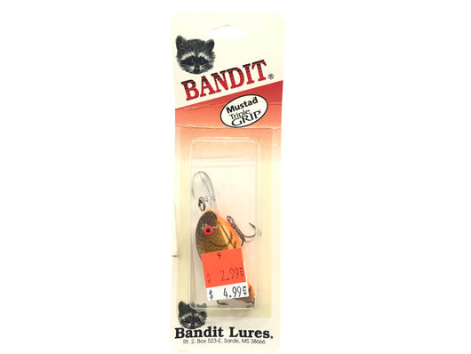 Bandit Series 200 Gold Sparkle 274S Mustad Triple Grip Hooks New Old Stock
