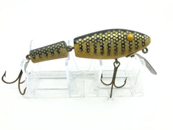 L & S Muskie-Master Yellow Body Black Back and Stripes Color Opaque Eyes