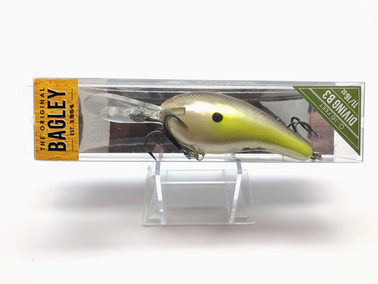 Bagley Diving Balsa B DB3-SS Sexy Shad Color New in Box OLD STOCK