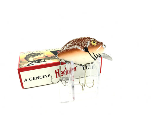 Heddon 9630 2nd Punkinseed X9630WBR White Brown Crackleback Color New in Box