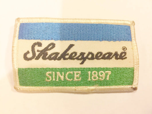 Shakespeare Since 1897 Fishing Patch