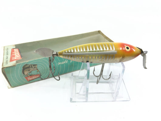 Heddon Wounded Spook Yellow Shore with Box