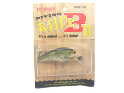 Bagley Diving Kill'r B2 DKB2-TLC True Life Crappie Color New on Card Old Stock
