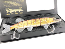 Mother Nature Lure Life Like Swimbait Tiger Muskellunge Color New in Box