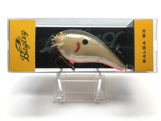 Bagley Balsa B3 BB3-SD Shad Color New in Box OLD STOCK