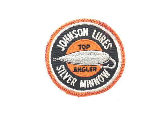 Johnson Lures Silver Minnow Top Angler Patch