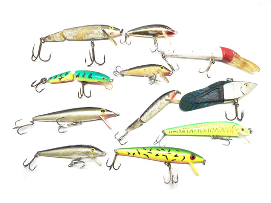 Fisherman's Special!  Eleven Lures for One Price!