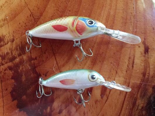 Ugly Duckling Lures Lot of Two