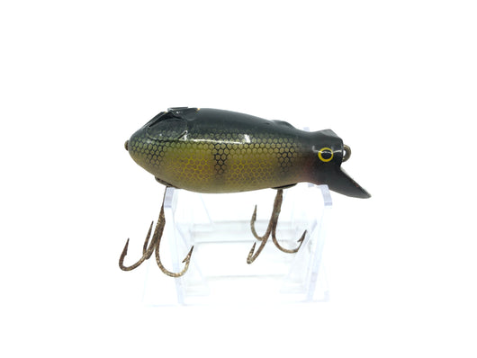Creek Chub 6600 Dive Bomber in Perch Color Wooden Lure