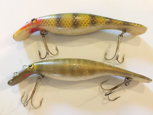 Homer Le Blanc Swim Whizz or Believer Drifter Lures Lot of Two
