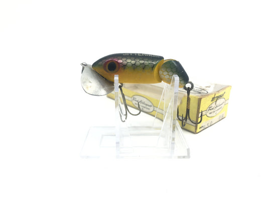 Arbogast Jointed Jitterbug Perch Color with Box
