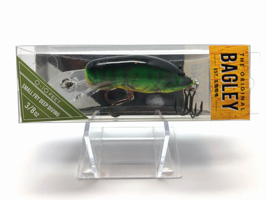 Bagley Small Fry Crayfish Deep Diving SFCDD1-HT Hot Tiger Color New in Box OLD STOCK
