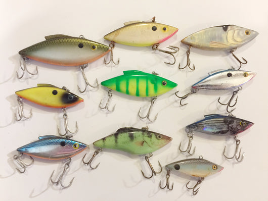Rat-L-Trap / Spot / Frenzy Type Lures Lot of 10!