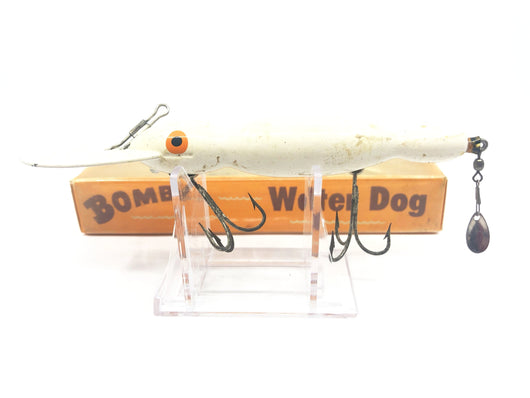 Vintage Wooden Bomber Water Dog 1701 Black Water Wave Color with Box