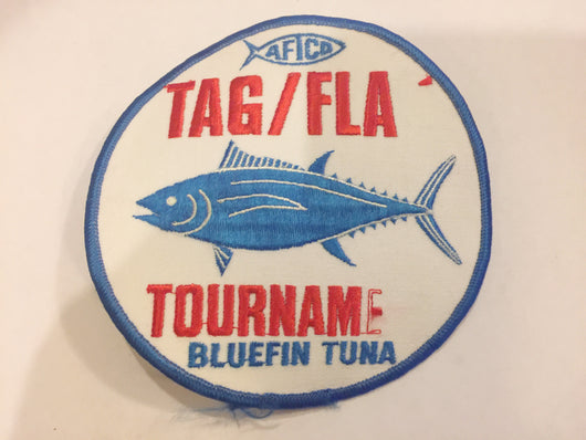 AFICA TAG / FLA Bluefin Tuna Tournament Patch