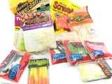 Huge lot of Misc Plastic Lures Yum Berkley and More