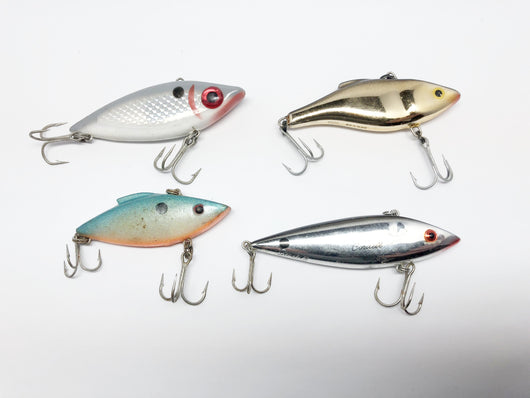 Lot of Four Rap Trap or Spot type lures