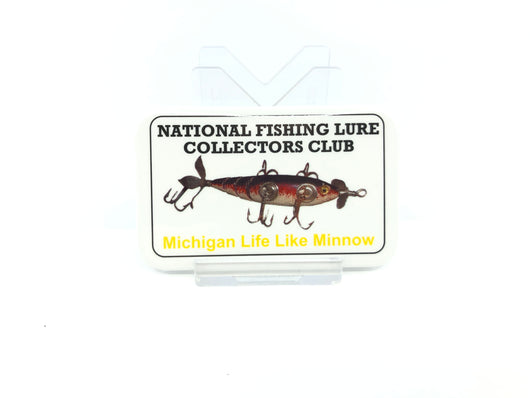 NFLCC Michigan Life Like Minnow Fishing Button