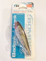 Bomber Badonk-A-Donk New on Card Speckled Trout Color