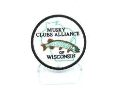 Musky Clubs Alliance of Wisconsin Fishing Patch