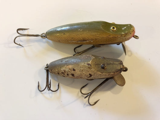 Paw Paw Lot of Two Antique Lures