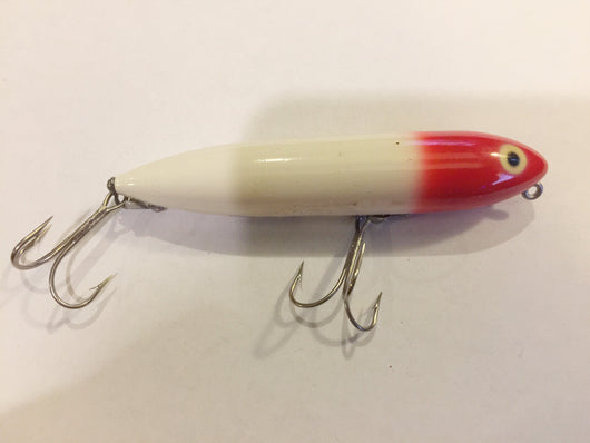Heddon Original Zara-Spook Red and White