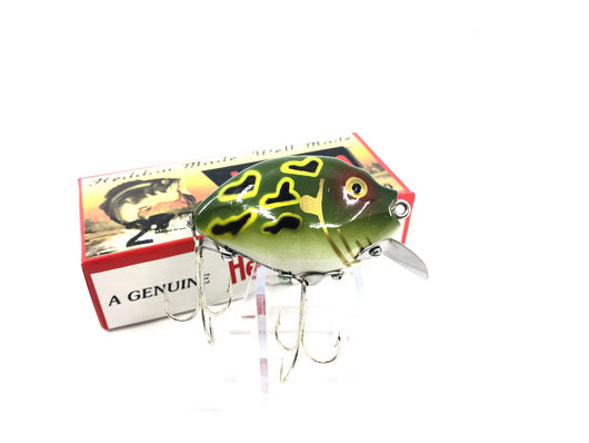 Heddon 9630 2nd Punkinseed X9630DGLF Dark Green Lunny Frog Color New in Box