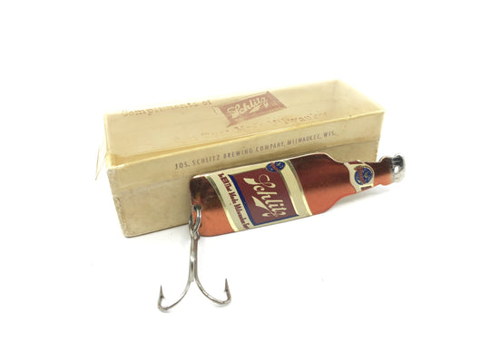 Schlitz Beer Bottle Novelty Lure with Box