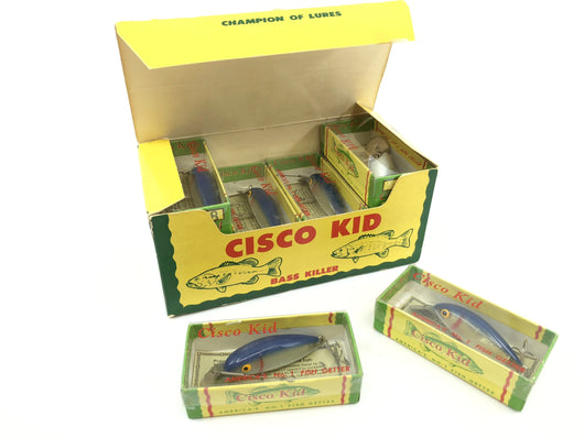 Vintage Cisco Kid Walleye Killer 313 Dealer Box of Twelve Lures