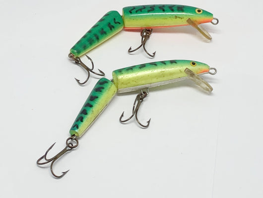 Two Jointed Rapala Minnow Firetiger Color