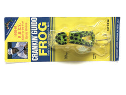Renosky Crankin' Guido Frog Light Green Frog Color New on Card