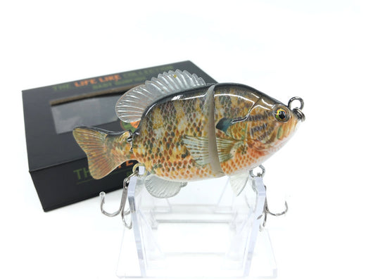 Mother Nature Lure Swimbait Baby Sunfish Series Warmouth Color New in Box