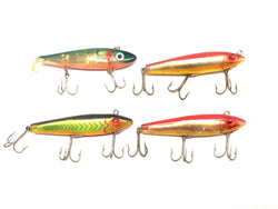 Four L & S Mirrolure Lures in Great Colors