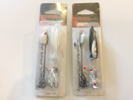 YumBrella Ultrlight Tripods New on Cards Lot of 2!