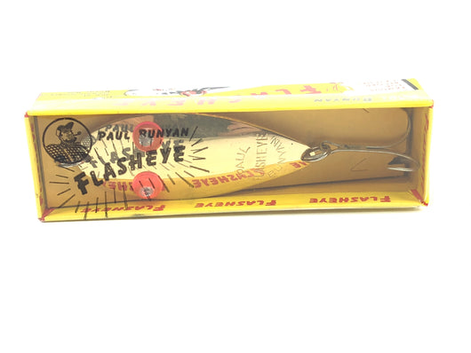 Paul Bunyan Flasheye Spoon 2600 GOLD New in Box