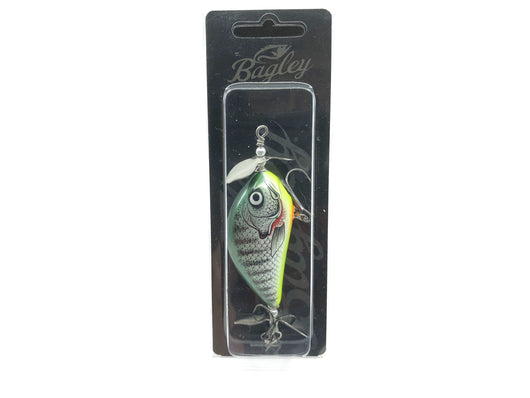 Bagley Sunny B Twin Spin SPBTS07-CBGL Chartreuse Bluegill New on Card Special