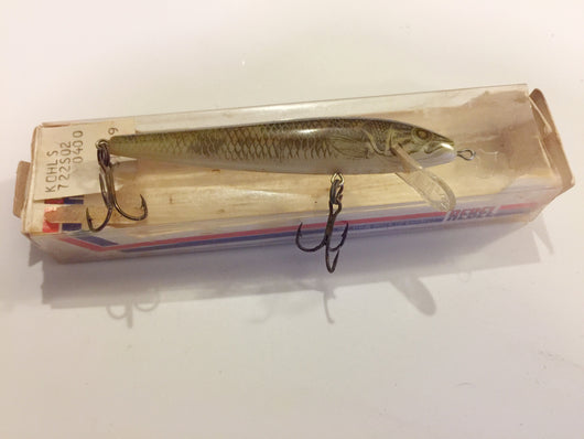 Rebel Naturalized Walleye Antique Lure