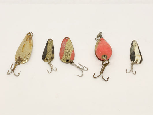 Lot of Small Metal Baits including Cherry Bomb