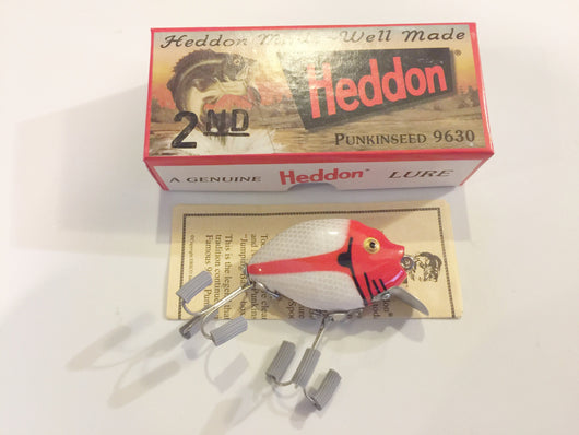 Heddon 9630 2nd Punkinseed PAS Allen Stripey Color New in Box