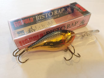 Rapala Risto Rap RR-7 SG Dealer Box of 6 Lures