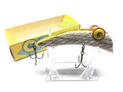 Rabble Rouser Topwater Lure with Box Silver and Orange