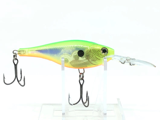 Glass Shad Rap Glass Citrus Rap