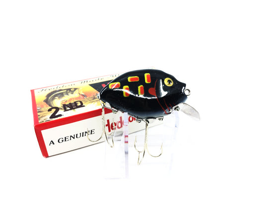 Heddon 9630 2nd Punkinseed X9630PM Black Glow Frog Color New in Box