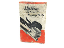 Martin Automatic Fishing Reels Pamphlet / Catalog