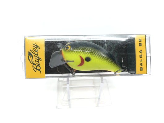 Bagley B2 Square Bill Chartreuse Shad Old Version Color BB2-CSD New in Box OLD STOCK2