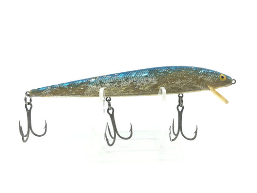 Unmarked Blue and Silver Minnow