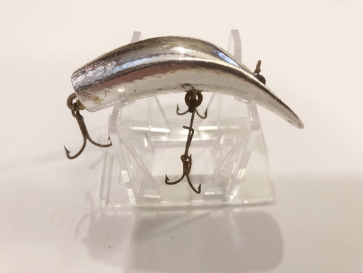 Helin Flatfish SPS Rare Wood with Silver Foil Antique Lure